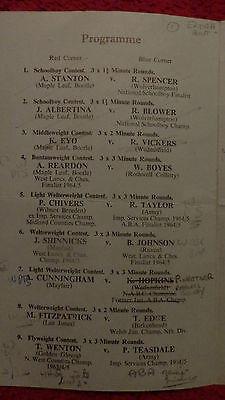Amateur Boxing- Liverpool Stadium 1964