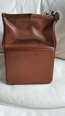 Antike alte Arzttasche aus Leder Nest Hofmann Carlsbad um 1920 orig.Schutztasche 8