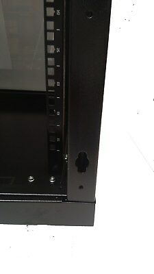 "12U 300mm Deep 19"" Rack System Wall Mount Network Cabinet (Provision for 2 Fans) 5"