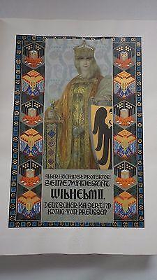 Deutsche Gedenkhalle(time of Wilhelm II Emperor german history)14,5x18 inch 3