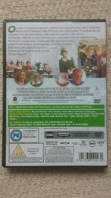 Elf DVD (2 Disc set) Will Ferrell James Caan Peter Dinklage CHRISTMAS COMEDY 2
