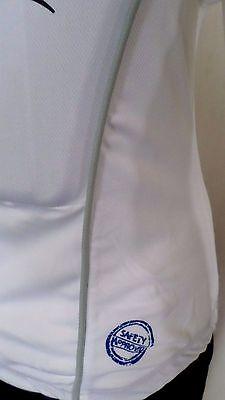 Rückenprotektoren Kinder Damen Reiten Enduro Sport Schutzweste Weiß Gr S NEU