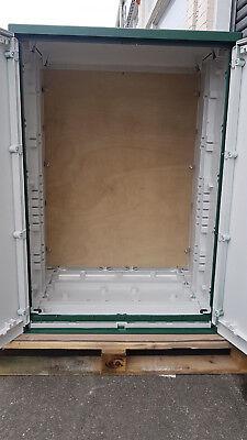 GRP Electric Enclosure, Kiosk, Cabinet, Meter Box, Housing (W800, H1154, D640)mm 5