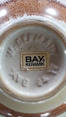 Vintage Ceramic Vase With Autumn Design. Mint 8