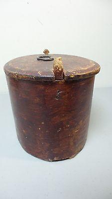 NICE 19TH CENTURY HAND MADE WOODEN NORWEGIAN BRIDE'S BOX PAINT, dated 1824 7
