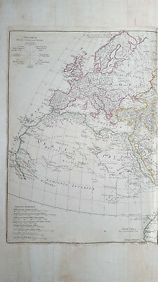 Orbis Veteribus Notus D'Anville Laurie & Whittle 1794 Map of the Ancient World