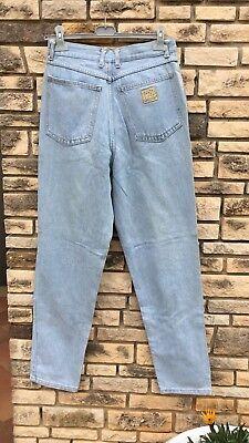 Jeans Vintage A Vita Alta Unisex Size 31/ Lavaggio Chiaro 2