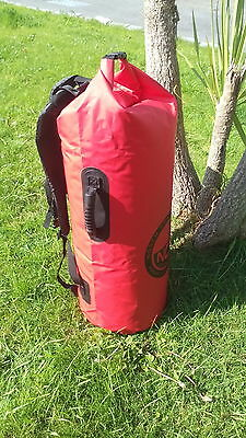 waterproof dry bag carry bag Padded rucksack straps. holds 50L
