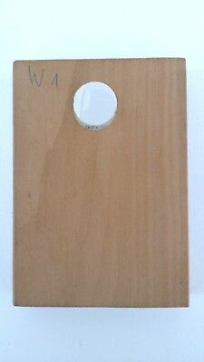 altes Holz Model Springerle Spekulatius Backform Hirte 5 x 7 x 1 cm