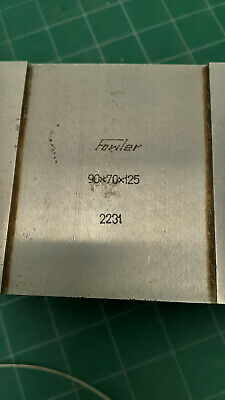 Fowler Precision 52-475-020 Shop-Blox Internal LARGE V-Block 90x70x125 ONE ONLY 2