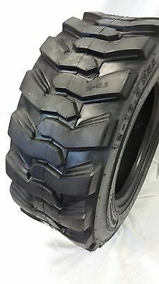 10X16.5 (1-Tire) 14 Ply Skid Steer 10-16.5 Road Warrior Skid Steer Tires 10165