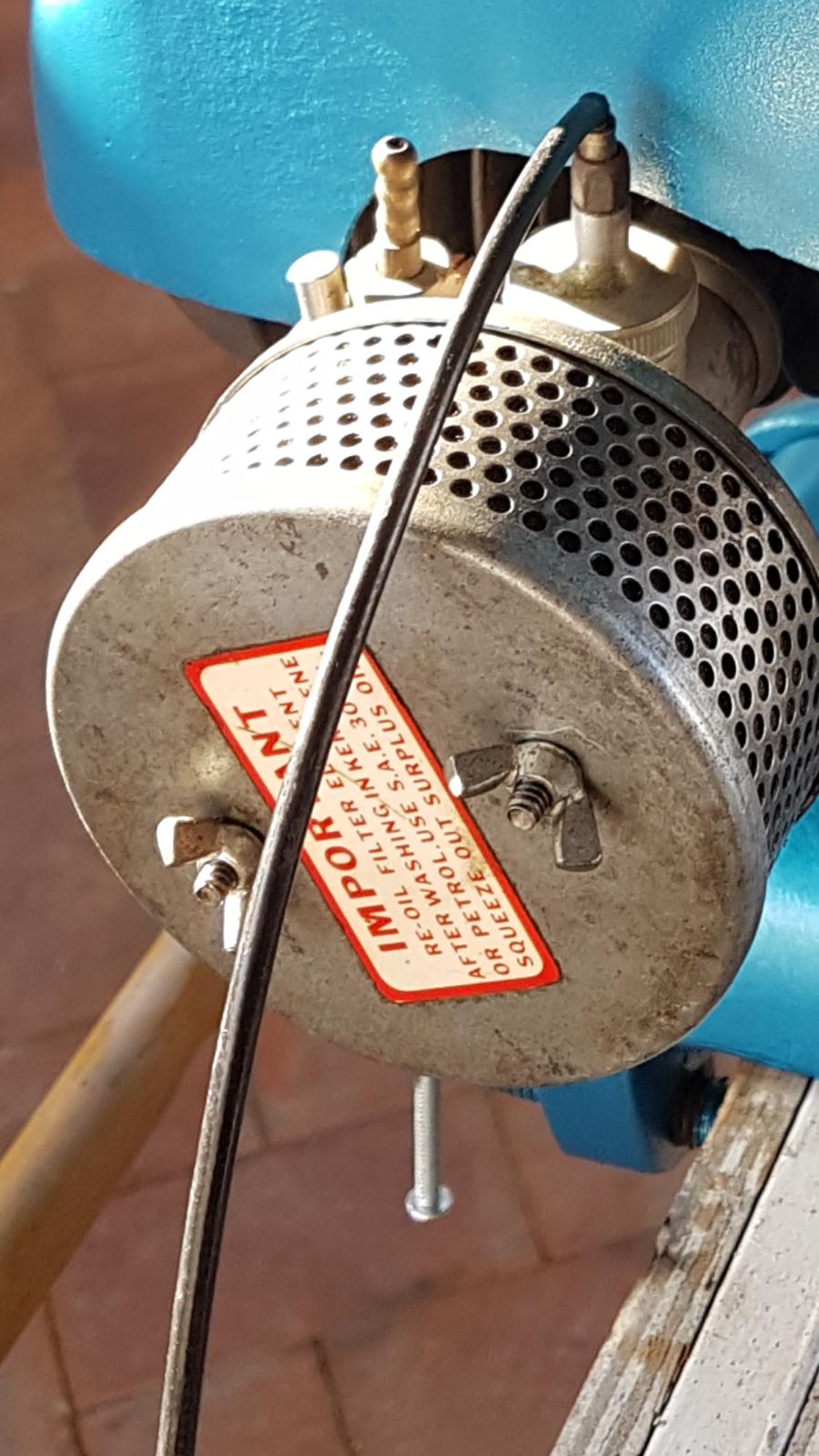 Amal Carburettor Air Cleaner Mini Bike Repro Decal 2