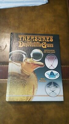 Treasures Of Very Rare Depression Glass Ident.& Value Guide By Gene Florence 2