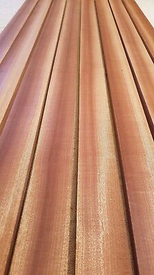 African Mahogany / Sapele Boat Deck Solid Wood Slats - Multiple Sizes - 15Mm 3