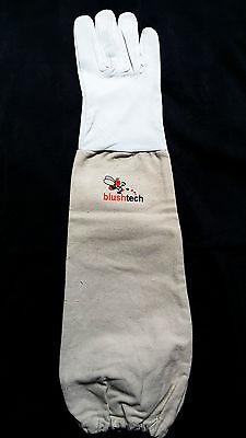 Beekeeper Beekeeping Bee gloves 100% Leather & Cotton Zean gloves Pair UK Seller 5
