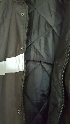 KAPTON Men's HiViz High Visibility Safety Security Coat Black XL RRP £45 4