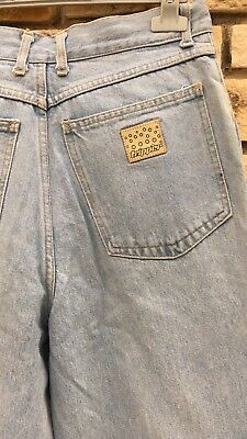 Jeans Vintage A Vita Alta Unisex Size 31/ Lavaggio Chiaro 3