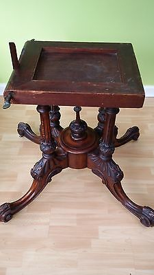 Antique Victorian Dining Table 4