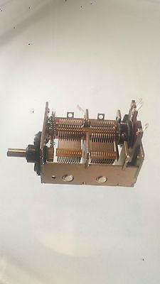 5 Stück Luftdrehkondensator 2 x 320pF Kondensator Drehko Air variable capacitor