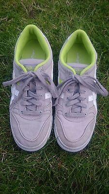 Onitsuka Tiger Aaron canvas grey, white & green sneakers boys (UK4.5, EU37.5) 2