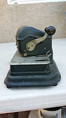 Antique/Vintage Safe-Guard Check Writer Model G (Rare)...Collectors Item 5