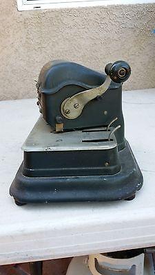 Antique/Vintage Safe-Guard Check Writer Model G (Rare)...Collectors Item 5