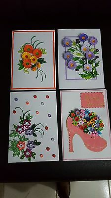 Handmade paper quilling greeting card 700 picclick 1 of 12 handmade paper quilling greeting card m4hsunfo