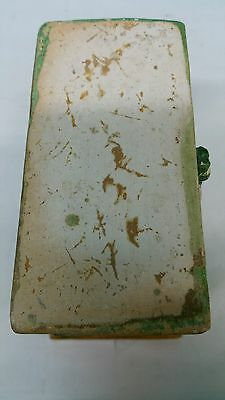 Antique Han Dynasty Style Ceramic Enamel Green Box 5