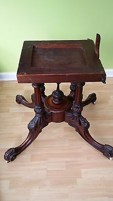 Antique Victorian Dining Table 11