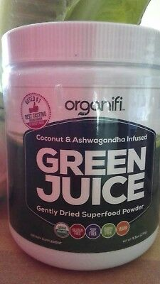 Super Sale Organifi Compo 1 Green and  1 RED JUICE Super Food Pow New Ship 4/24 2
