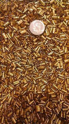 One pound brass chips turnings shavings machining 1 lb C360 yellow brass 4