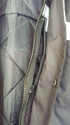 KAPTON Men's HiViz High Visibility Safety Security Coat Black XL RRP £45 5