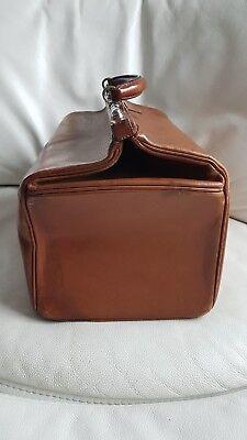 Antike alte Arzttasche aus Leder Nest Hofmann Carlsbad um 1920 orig.Schutztasche 4