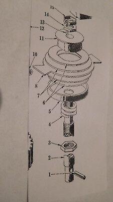 80qt 140qt Replaces Part #64483 Hobart Mixer M802 /& V1401 Brake Shaft