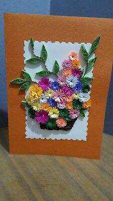 Pleasant Handmade Paper Quilling Greeting Card Specialy For Lovers Tell Personalised Birthday Cards Cominlily Jamesorg