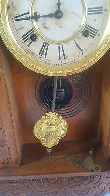 Waterbury of the USA Kitchen Parlor Table Shelf Mantle Clock 2