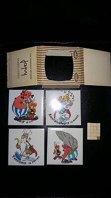 Astérix rare Japy les 4 carreaux en boîte d'origine complet superbe