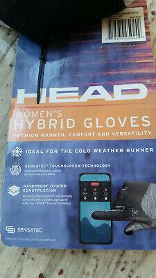 NWT's HEAD Hybrid Women's Gloves Med M Sensatec Touchscreen Windproof NEW 5