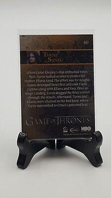 Game Of Thrones Season 7 Foil Parallel Base Card #60 Tyene Sand