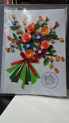 Handmade paper quilling greeting cards for the good luck 650 1 of 4 handmade paper quilling greeting cards for the good luck m4hsunfo