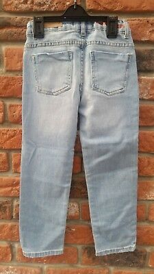 ZARA Girls Casual Slim Blue Jeans Denim 7 years 5