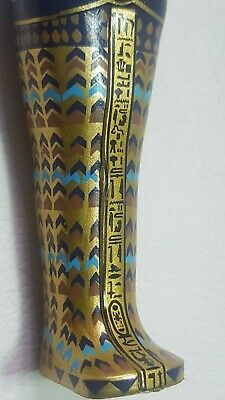 TUTANKHAMUN Detailed Reproduction Canopic Coffinette 2