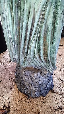 "Classical Cast Bronze Sculpture Fountain Rebecca at the Well  Lady with Urn 56""H 12"