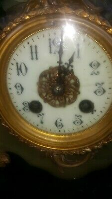 Antique french clocks. rococo looking 11