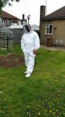 Beekeeping suit Beekeepers Bee Suit with Fencing Veil-All sizes UK Seller 12