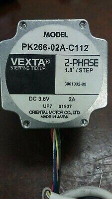 ORIENTAL MOTOR PK266-02A-C112 2 Phase 1.8 Step Vexta Stepping Motor 2