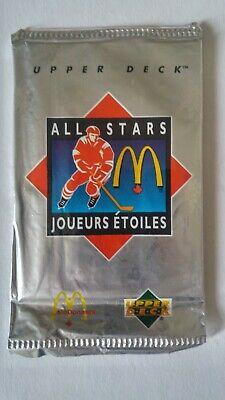 1991-92 UD Upper Deck McDonalds Hockey Pack Unopened Discount On Muliptles /Box 2