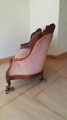VICTORIAN JOHN HENRY BELTER ROSALIE with GRAPES SOFA GREAT CONDITION 5