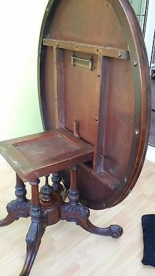 Antique Victorian Dining Table 3