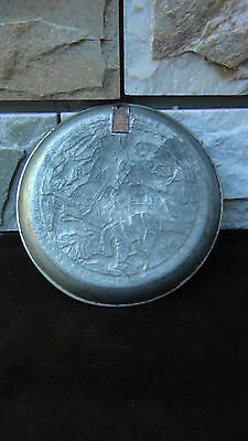 Antique 18C  Islamic Relief Bowl Depicts Persian Sultan Fighting With The Lion 11